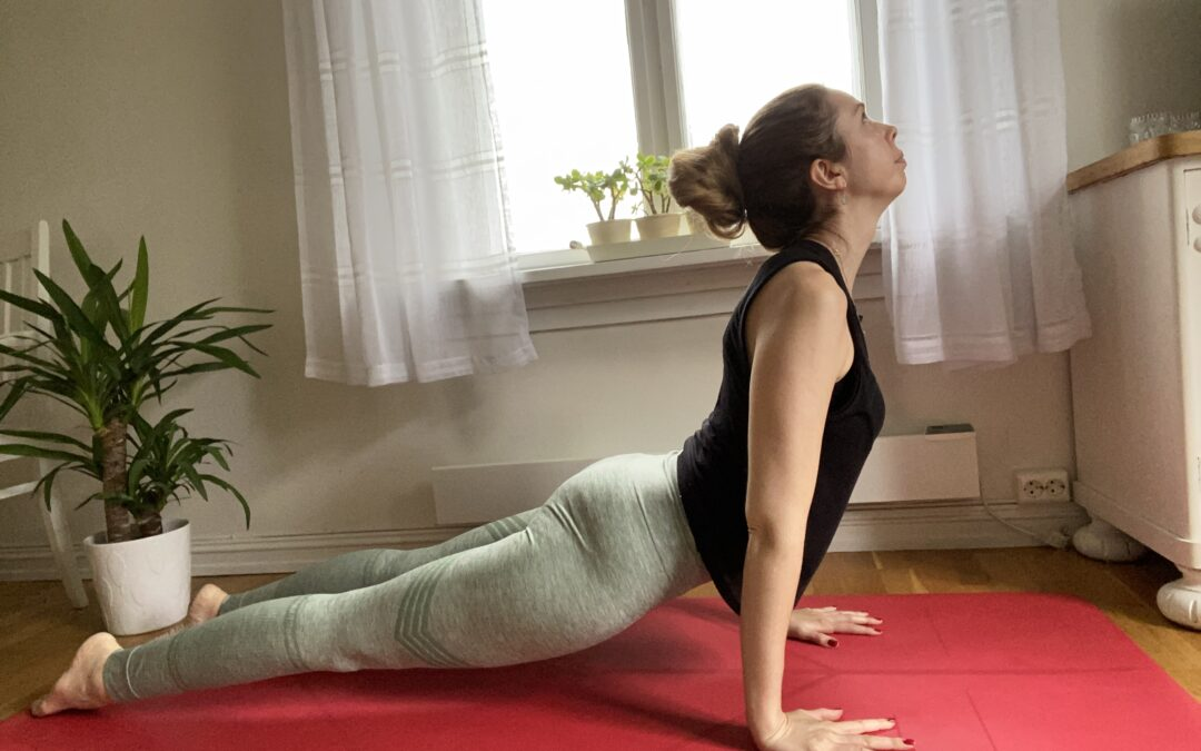 Asana lab: Upward dog
